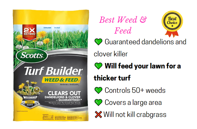 Best weed and feed weed killer for lawns - Scotts Halts Herbicide
