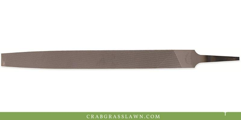 nicholson flat file review for sharpening lawn mower blades