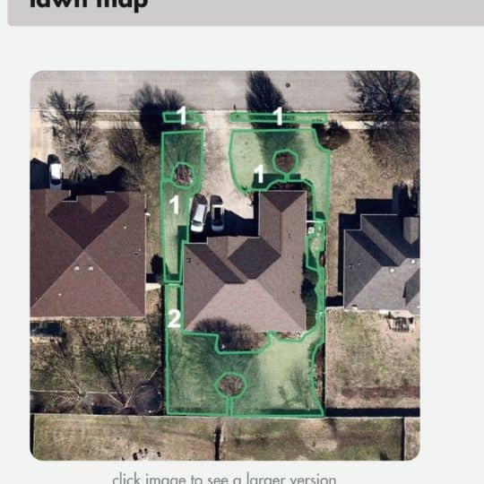 Sunday Lawn Care Lawn map