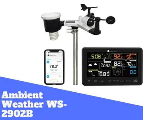 Ambient Weather ws-2902b review