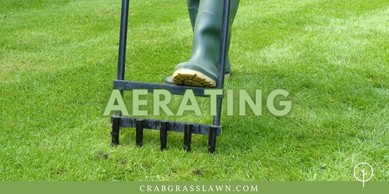 how to aerate in the fall