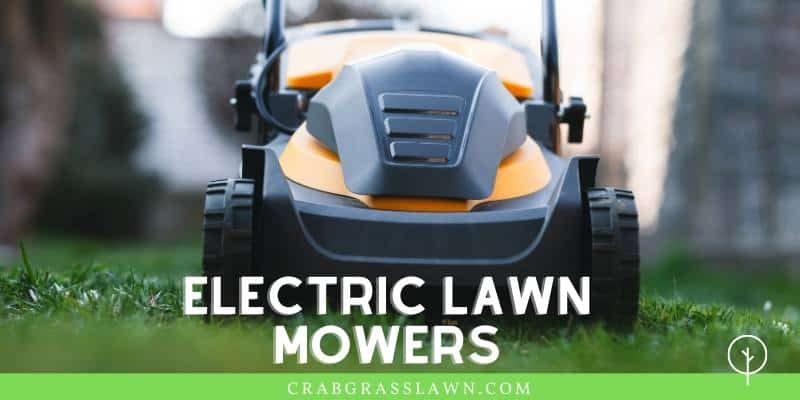 electric lawn mower examples
