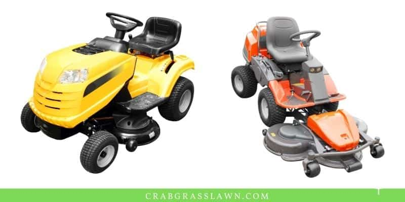 riding lawn mower examples