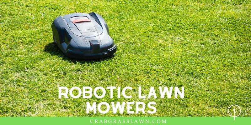 robotic lawn mower examples