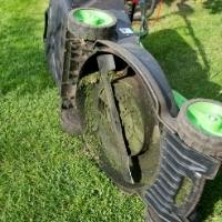 drain gas from lawn mower