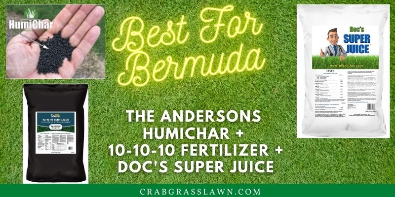 The Andersons 10-10-10 fertilizer for bermuda grass