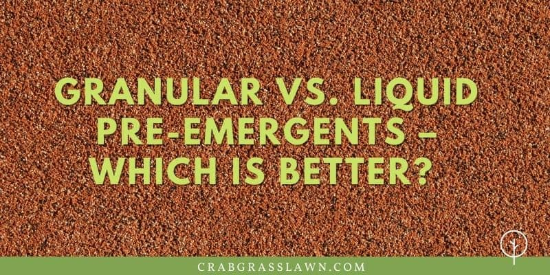Granular vs. Liquid Pre-Emergents – Which is Better?