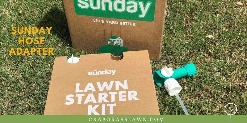 Sunday Lawn Care Hose Adapter