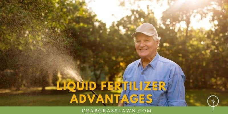liquid fertilizer advantages
